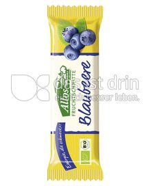 Produktabbildung: Allos Fruchtschnitte Blaubeere 40 g