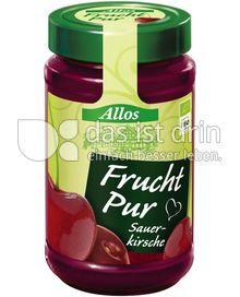 Produktabbildung: Allos Frucht Pur Sauerkirsche 250 g