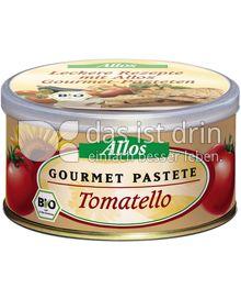 Produktabbildung: Allos Gourmet Pastete Tomatello 125 g