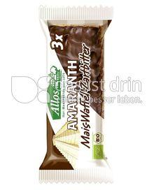Produktabbildung: Allos Amaranth Mais-Waffel-Zartbitter 37 g