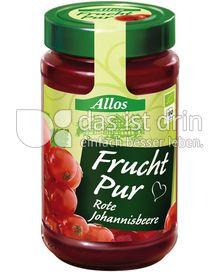Produktabbildung: Allos Frucht Pur Rote Johannisbeere 250 g