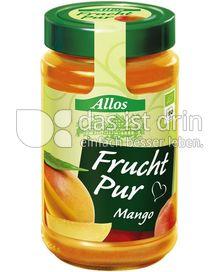 Produktabbildung: Allos Frucht Pur Mango 250 g