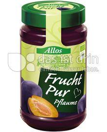 Produktabbildung: Allos Frucht Pur Pflaume 250 g