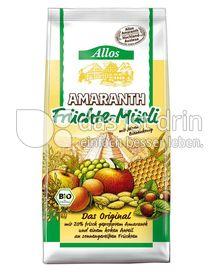Produktabbildung: Allos Amaranth Früchte-Müsli 500 g