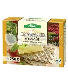 Produktabbildung: Allos Amaranth Knäcke 250 g
