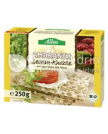 Produktabbildung: Allos Amaranth Sesam-Knäcke 250 g