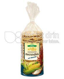 Produktabbildung: Allos Amaranth-Maiswaffeln mit Meersalz 130 g