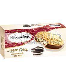 Produktabbildung: Häagen-Dazs Cream Crisp Cookies & Cream