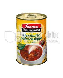 Produktabbildung: Sonnen-Bassermann Herzhafte Gulaschsuppe 400 ml