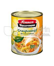 Produktabbildung: Sonnen-Bassermann Graupentopf 800 g