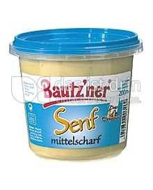 Produktabbildung: Bautz'ner Senf mittelscharf 200 ml