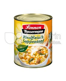 Produktabbildung: Sonnen-Bassermann Rindfleisch Suppentopf 800 g