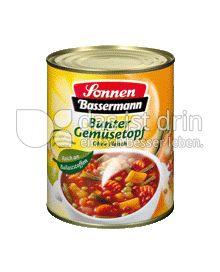 Produktabbildung: Sonnen-Bassermann Bunter Gemüsetopf 800 g