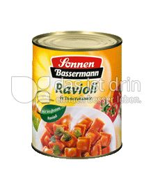 Produktabbildung: Sonnen-Bassermann Ravioli in Tomatensauce 800 g