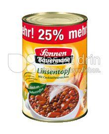 Produktabbildung: Sonnen-Bassermann Linsentopf 1000 g