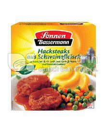 Produktabbildung: Sonnen-Bassermann Hacksteaks aus Schweinefleisch 480 g