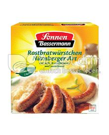 Produktabbildung: Sonnen-Bassermann Rostbratwürstchen Nürnberger Art 480 g