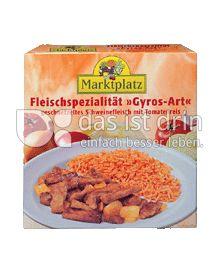 "Produktabbildung: Marktplatz Fleischspezialität ""Gyros-Art"" 300 g"