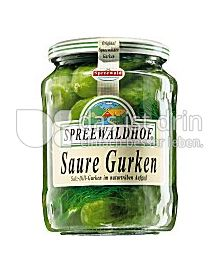 Produktabbildung: Spreewaldhof Salz-Dill-Gurken 720 ml