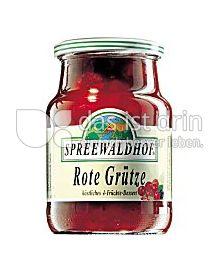 Produktabbildung: Spreewaldhof Rote Grütze 500 g