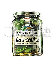 Produktabbildung: Spreewaldhof Gewürzgurken 720 ml