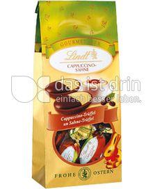Produktabbildung: Lindt Gourmet-Edition-Eier Cappuccino-Sahne-Trüffel 90 g