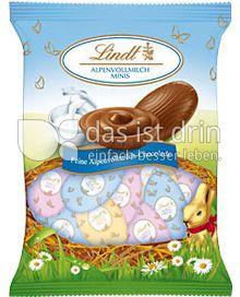 Produktabbildung: Lindt Alpenmilch-Mini-Eier 100 g