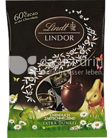Produktabbildung: Lindt Lindor-Eier Edelbitter 60% Cacao 90 g