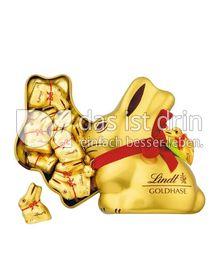 Produktabbildung: Lindt Goldhase Mini im Metall 150 g