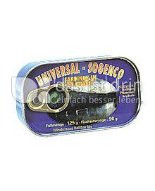 Produktabbildung: Universal-Sogenco Sardinen 125 g