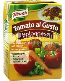 Produktabbildung: Knorr Tomato al Gusto Bolognese 370 g