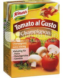 Produktabbildung: Knorr Tomato al Gusto Champignon 370 g