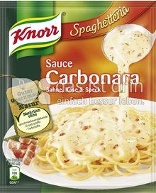 Produktabbildung: Knorr Spaghetteria Sauce Carbonara 250 ml
