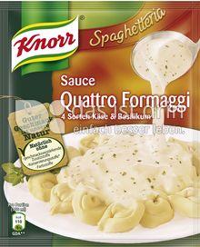 Produktabbildung: Knorr Spaghetteria Sauce Quattro Formaggi 250 ml