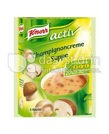 Produktabbildung: Knorr activ Champignoncreme Suppe 150 ml