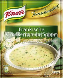 Produktabbildung: Knorr Feinschmecker Fränkische Grünkerncreme Suppe 500 ml