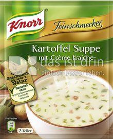 Produktabbildung: Knorr Feinschmecker Kartoffel Crème fraîche Suppe 500 ml