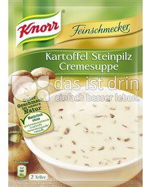 Produktabbildung: Knorr Feinschmecker Kartoffel Steinpilz Cremesuppe 500 ml