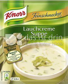 Produktabbildung: Knorr Feinschmecker Lauchcreme Suppe 500 ml