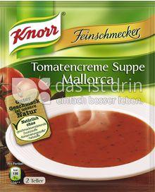 Produktabbildung: Knorr Feinschmecker Tomatencreme Suppe Mallorca 500 ml