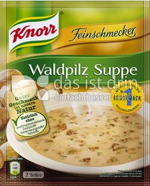 Produktabbildung: Knorr Feinschmecker Waldpilz Suppe 0,5 l