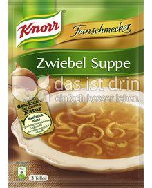 Produktabbildung: Knorr Feinschmecker Zwiebel Suppe 750 ml