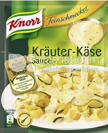 Produktabbildung: Knorr Feinschmecker Kräuter Käse Sauce 250 ml