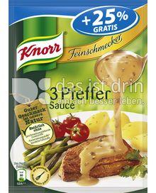 Produktabbildung: Knorr Feinschmecker 3 Pfeffer Sauce 250 ml