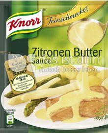Produktabbildung: Knorr Feinschmecker Zitronen Butter Sauce 250 ml
