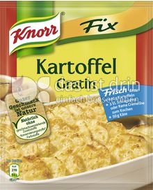 Produktabbildung: Knorr Fix Kartoffel Gratin 37 g