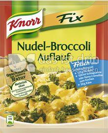 Produktabbildung: Knorr Fix Nudel-Broccoli Auflauf 46 g