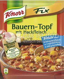 Produktabbildung: Knorr Fix Bauern-Topf mit Hackfleisch 43 g