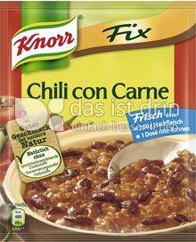 Produktabbildung: Knorr Fix Chili con Carne 37 g