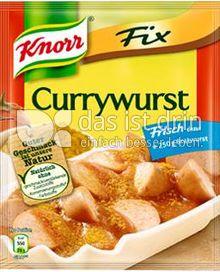 Produktabbildung: Knorr Fix Currywurst 36 g
